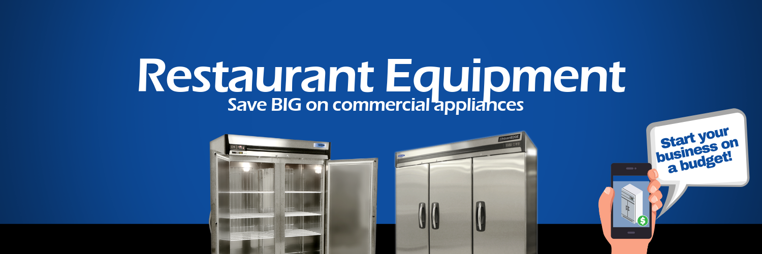 Experience huge savings on restaurant equipment