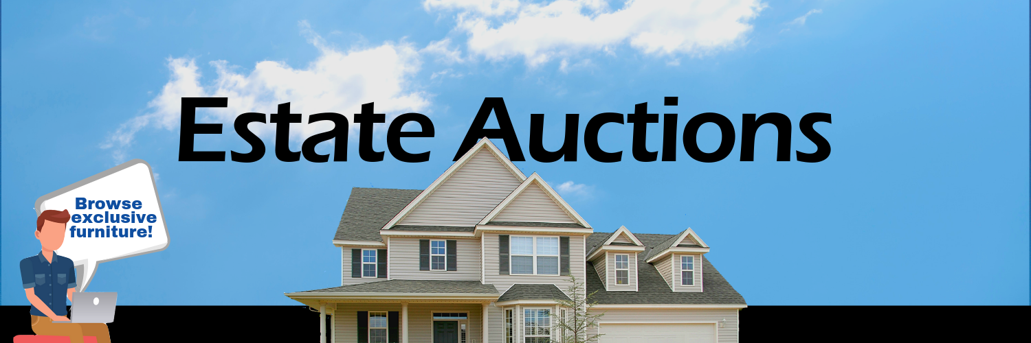 Find unique deals in our estate auctions