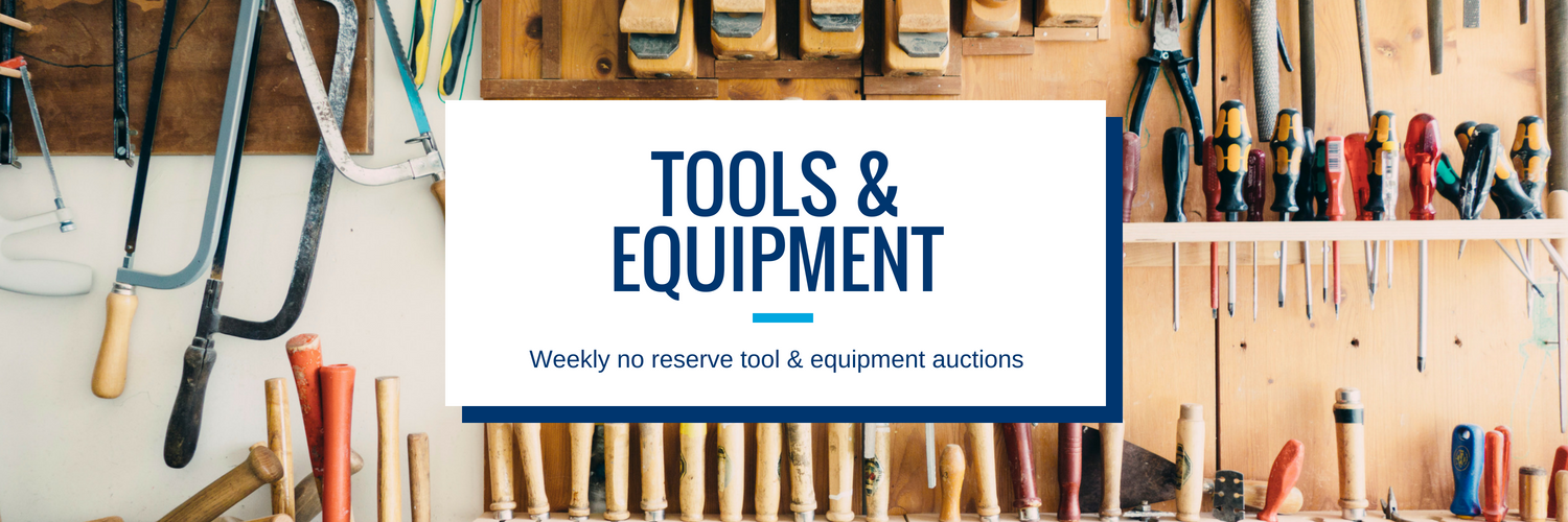Tools and Equipment Auction Contractor Supplies
