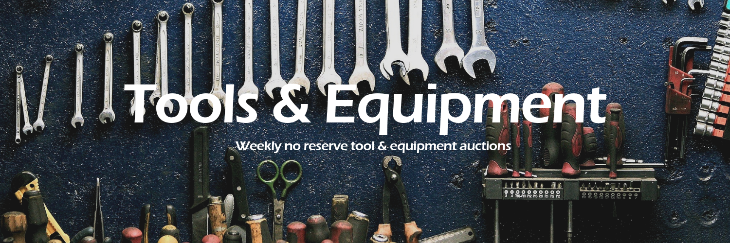 Get great deals on tools and equipment