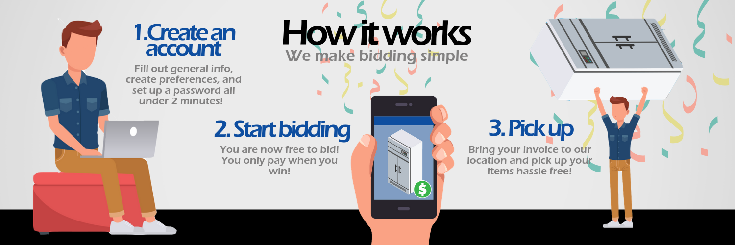 How bidding at Auction Nation works