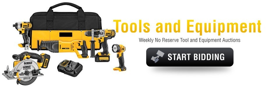 Tools & Equipment Auctions