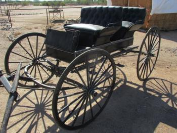 Scottsdale Onsite Antique Carriage And Wagon Auction