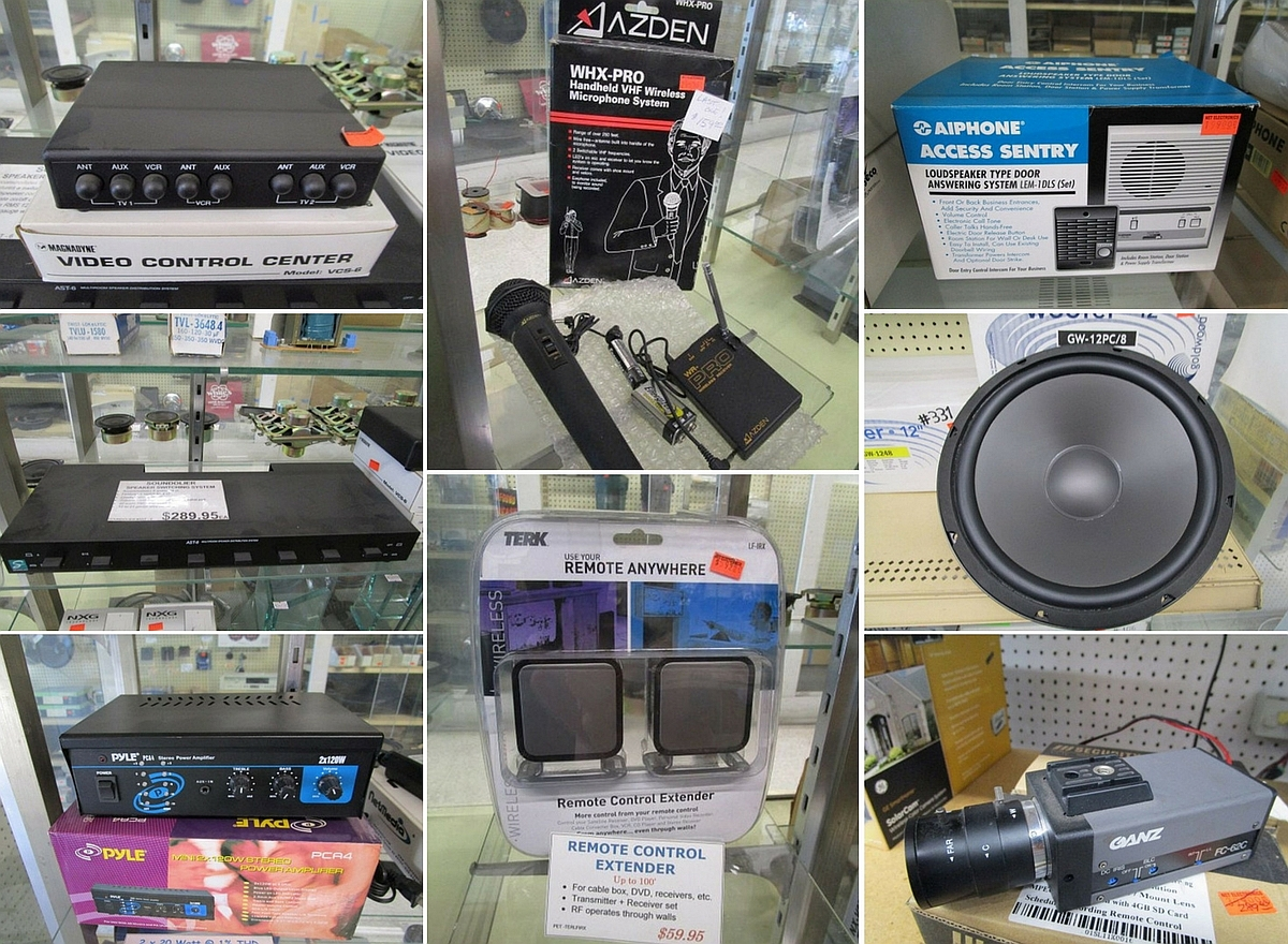 Los Angeles Ca Electronics Store Liquidation Auction