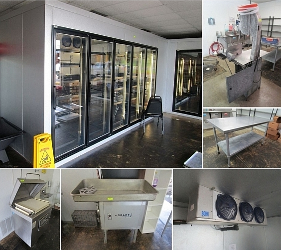 Longview Tx Onsite Meat Market Equipment Liquidation