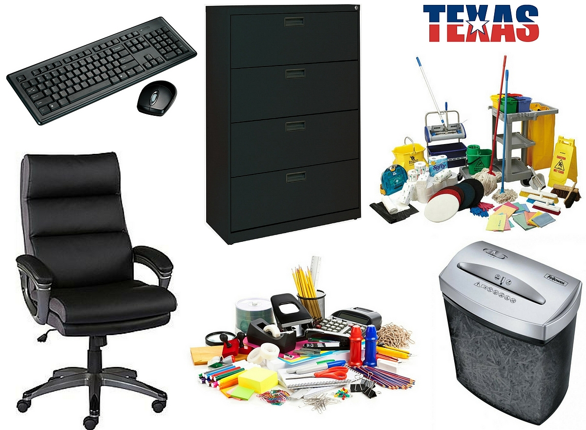 Irving tx business office supply auction part 2 for Furniture stores in irving tx