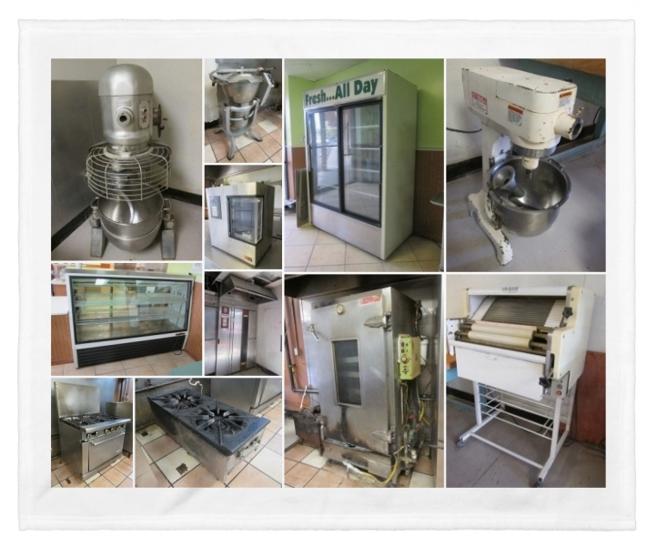 Phoenix Az Onsite Commercial Bakery Equipment Liquidation