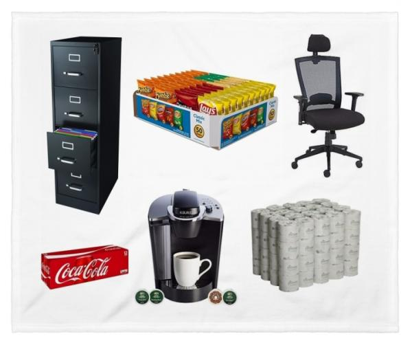 MESA AZ Office Business and Snack Food Supply Auction  Auction