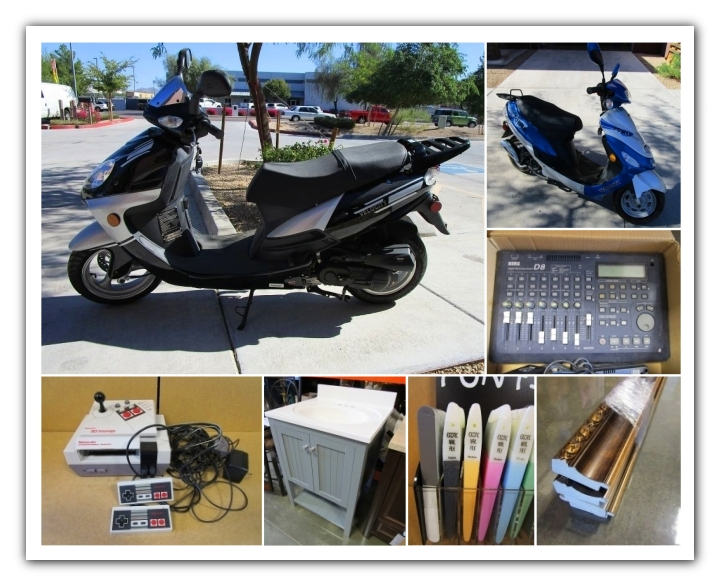 Mesa Az Onsite Scooters Electronics And More Auction Auction Nation Auction Nation