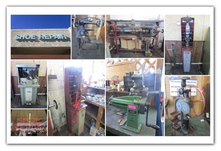 Tempe Az Onsite Shoe Repair Shop Auction Auction Nation