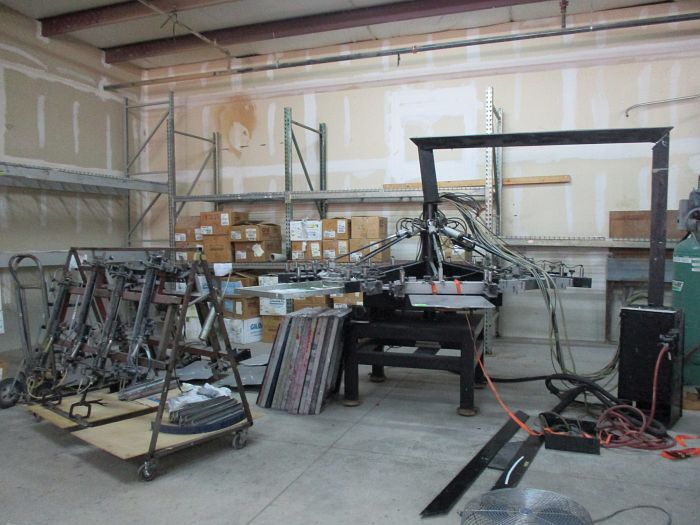 Tucson Az Onsite Commercial Screen Print Equipment