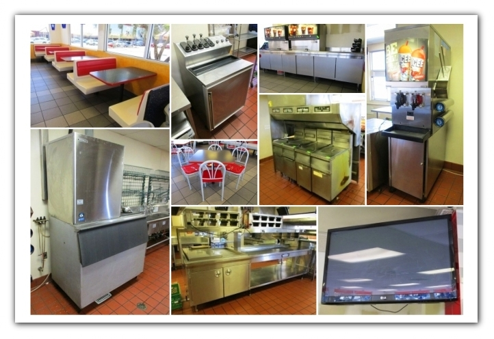 Phoenix Az Onsite Former Burger King Restaurant Liquidation Auction Auction Nation Auction