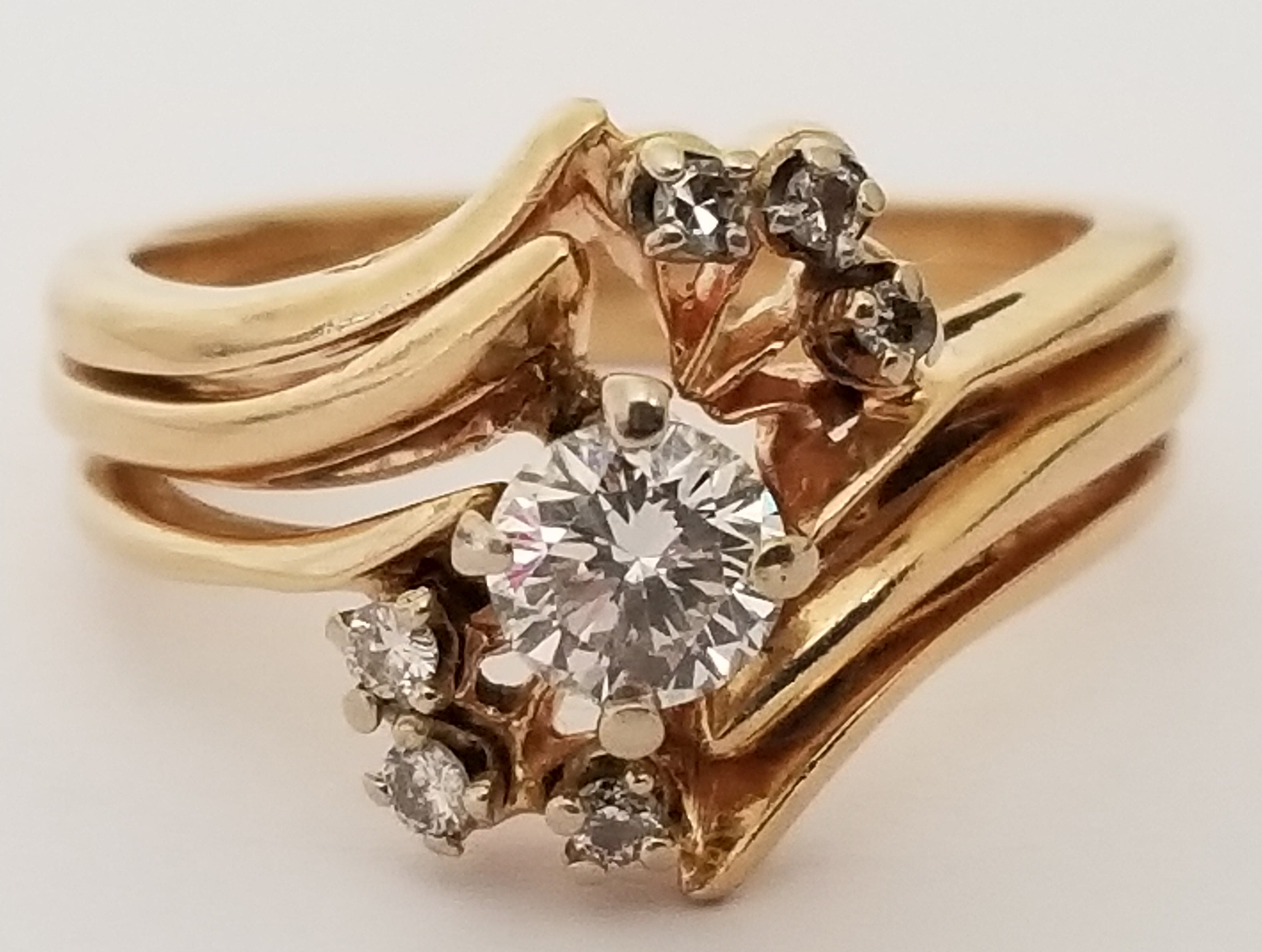 North Phoenix Az High End Gold Amp Silver Ring Estate Jewelry Auction Auction Nation Auction
