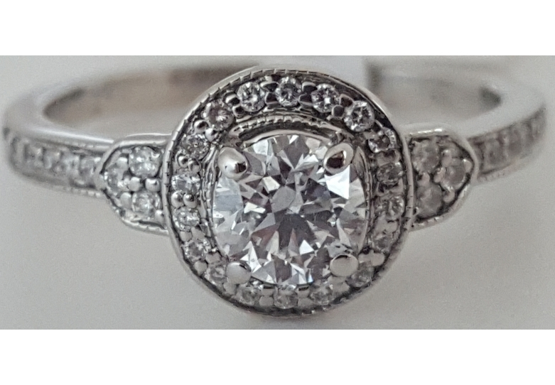 North Phoenix Az High End Luxury Diamond Wedding Ring