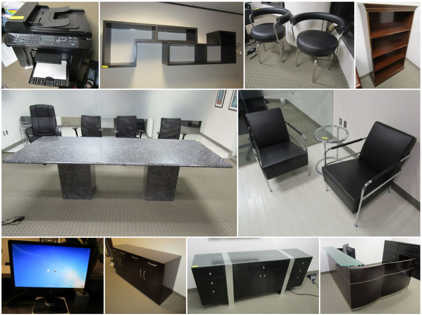 Dallas Tx High End Law Office Liquidation Auction