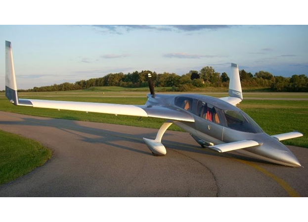 Santee Ca Sq2000 Canard Experimental Aircraft Auction