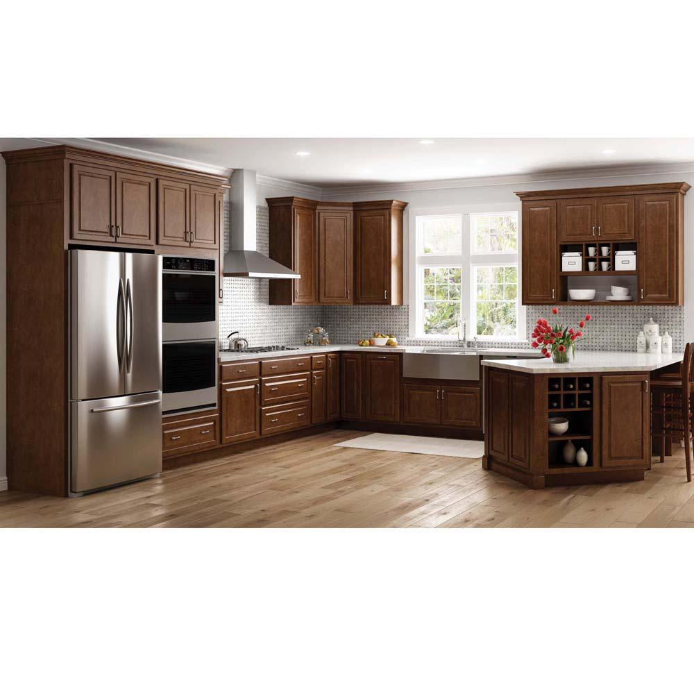 Kitchen Design Brown: PHOENIX, AZ ONSITE Hampton Bay Complete Kitchen Cabinet
